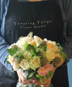 [Flower Lesson]Dome Hand Tied by Tempting Tulips 템팅튤립스 돔핸드타이드. 꽃다발
