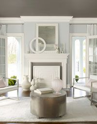 Benjamin Moore Genesis White Reality can be harsh and