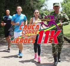 El Cauca corre por sus héroes en la I Carrera Atlética 11 Y 5K [http://www.proclamadelcauca.com/2015/07/el-cauca-corre-por-sus-heroes-en-la-i-carrera-atletica-11-y-5k.html]