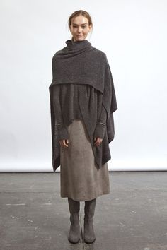 Steven Alan Fall 2014 Ready-to-Wear Collection Slideshow on Style.com gray on gray #minimalist #fashion #style