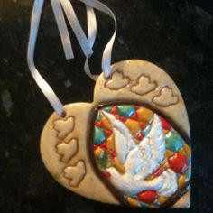Hand crafted wall hanging gifts www.dough-designs.co.uk