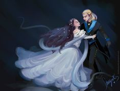 """""""Everyone has danced with death, but no one quite like Elisabeth."""" - Elisabeth das Musical I couldn't help myself... I had to channel my love for the Elisabeth musical into an artwork. <3"""