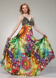 Colorful Fashion Dresses | Want more related info about Formal ...