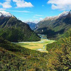 One of the great walks of NZ...the Routeburn Track! Photo Credit: @wellykiwi #newzealandfinds #newzealand #island #islandlife #adventure #adrenalin #instatravel #travelgram #instagood #travelling #travel #instapassport #photooftheday #picoftheday #holiday #fun #hiking #nature