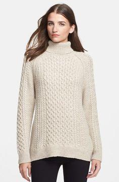 Vince Cable Knit Turtleneck Sweater | Nordstrom