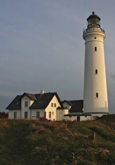 Hirtshals lighthouse, North Jutland, Denmark | by Hajo Ermen