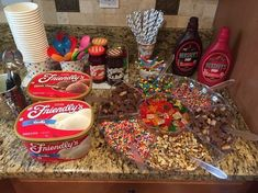 Ice Cream Themed Birthday Party Ideas Sundae bar for make your. - boxbraids - Ice Cream Themed Birthday Party Ideas Sundae bar for make your. Ice Cream Themed Birthday Party Ideas Sundae bar for make your own sundae party - Birthday Party Ideas For Teens 13th, Fun Sleepover Ideas, Sleepover Food, Sleepover Birthday Parties, Girl Sleepover, Party Ideas For Teenagers, Sleep Over Party Ideas, Sleepover Activities, Teen Party Food