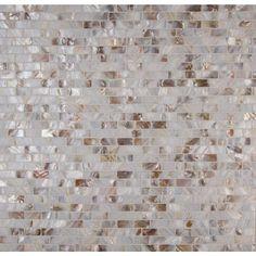 MS International Santorini 12 in. x 12 in. x 3 mm Glass Mesh-Mounted Mosaic Wall Tile-GLSSHLBRK-SANT - The Home Depot