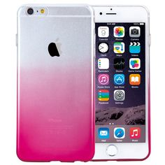 Amazon.com: HAWEEL® Ultra Slim Gradient Color Clear Soft TPU Case for iPhone 6 & 6s(Black): Cell Phones & Accessories