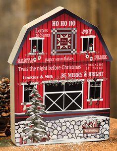 KP Creek Gifts - Ho Ho Ho Chunky Barn