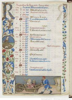 Horae ad usum Parisiensem. 1475-1500, BnF, Département des manuscrits, Latin 1173 4v