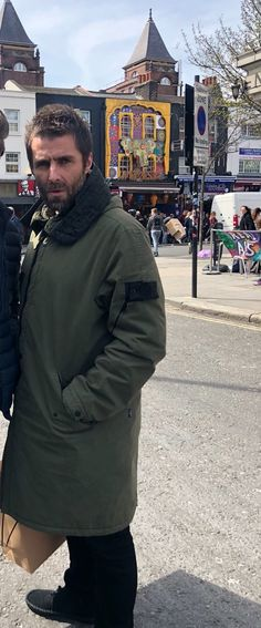 Hair And Beard Styles, Hair Styles, Liam Gallagher Oasis, Britpop, Stone Island, Canada Goose Jackets, Winter Jackets, Monkey, Clothes