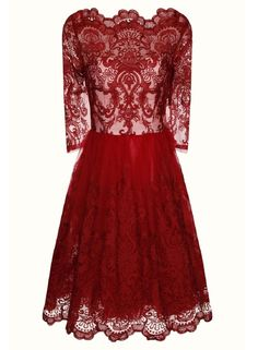 Chi Chi Baroque style tea dress - Dorothy Perkins