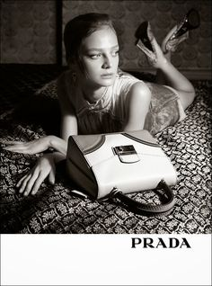 Gemma Ward, Julia Nobis, IIne Neefs for Prada Spring 2015