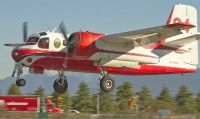 Firecat, modified Grumman CS2F Tracker submarine hunter; modified by Conair Ltd. for use in fighting forest fires.