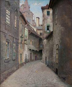 poboh: Old Praha Jan Bedřich Minařík. Czech - Via:. Wicca, Old Paintings, Paintings I Love, Fantasy Rpg, Fantasy World, Austro Hungarian, Prague Czech, Central Europe, Victorian Gothic