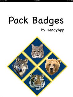 I have yet to try any of these trackers, but I am pinning so our Pack can look at them. Pack Badges - a tracker for Boy Scouts of America® Cub Scout™ and Webelos Rank Advancement and other Scouting® award requirements #1