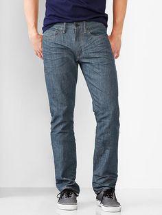 GAP 1969 slim fit jeans (scraped blue wash) 28*30 30*30 38*34 140614 #GAP #SlimSkinny