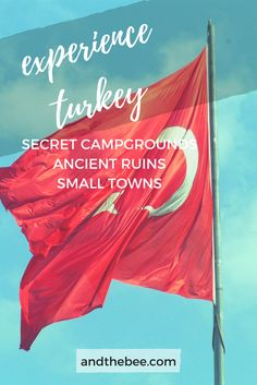 Experience Turkey! Secret campgrounds, ancient ruins and small towns! Check out the full blog posts to see my favorite places that I visited while living in Turkey for 6 months. <3