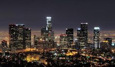 downtown los angeles skyline thumb 30 City Skylines that you will fall in love with. Downtown Los Angeles, Los Angeles At Night, Los Angeles Skyline, Bora Bora, Verona, The Places Youll Go, Places To See, San Diego, Wanderlust