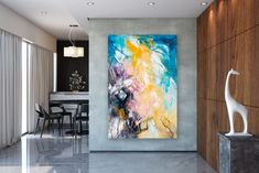 Items similar to Large Abstract Painting,square painting,extra large wall art,large abstract art,textures painting on Etsy Texture Art, Texture Painting, Oversized Wall Art, Gold Canvas, Extra Large Wall Art, Abstract Canvas Art, Watercolor Artists, Large Painting, Modern