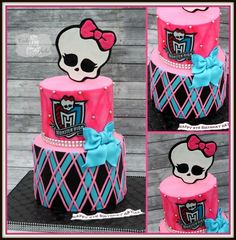 Monster High Birthday Cake!