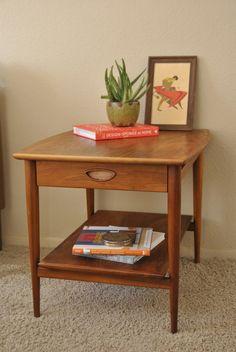 Drexel Heritage Mid Century Side Table/Nightstand