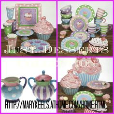 Okay so here's one more! I know this one pretty well too. It's the perfect way to celebrate a birthday or teach your little girls how to host a tea party in style. I know for a fact you won't find all these coordinating pieces in the stores!