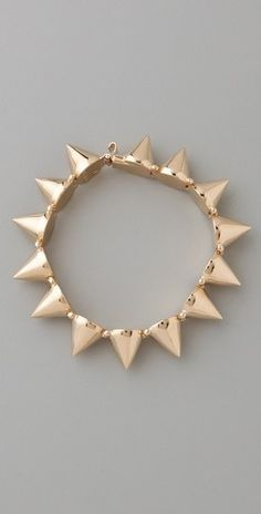 AH! I desperately need this spike bracelet by @CCSKYE! SO obsessed!