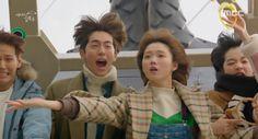 I don't know how I'm Joon Hyung, Bok Joo, and Soon Ok all at the same time Nam Joo Hyuk Lee Sung Kyung, Jong Hyuk, Drama Korea, Korean Drama, Kim Bok Joo Swag, Weightlifting Fairy Kim Bok Joo Wallpapers, Weightlifting Kim Bok Joo, Weighlifting Fairy Kim Bok Joo, Kdrama