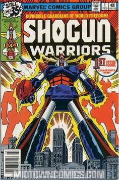 All robot- no disguise. #ShogunWarrior back issues, just added!