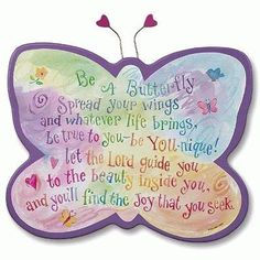 Be A Butterfly!