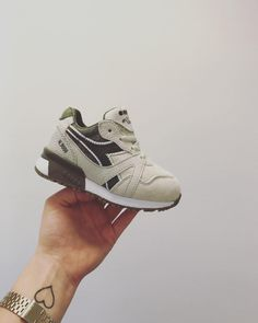 big sale 584f3 5c81d Around the office  the Diadora N9000 for the little ones! So cute! Das