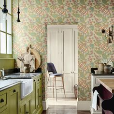 News: Colours and new releases for 2020 Paisley Wallpaper, Print Wallpaper, Pierre Frey, Pantone, Mad About The House, Little Greene, Baroque Design, Traditional Decor, Cool Diy Projects