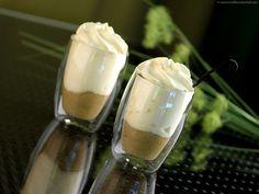 Compotée de rhubarbe et son espuma vanille Bourbon