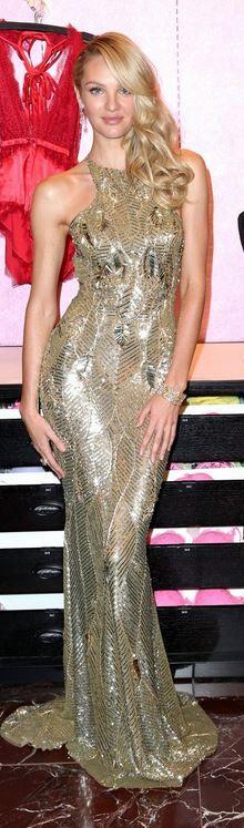 Candice Swanepoel in Zuhair Murad