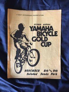 VINTAGE YAMAHA 1974 MX360 BANNER