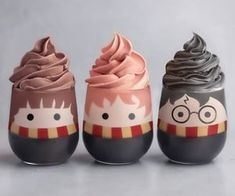 50 Of Juice and Milkshake Pictures in 50 Glasses All Look Amazingly Beautiful - Delicious Food Kids Bolo Harry Potter, Gateau Harry Potter, Cute Harry Potter, Harry Potter Food, Cute Food, Yummy Food, Cute Baking, Kawaii Dessert, Aesthetic Food