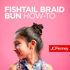 Looking for a perfect back to school hairstyle for your daughter? This braids tutorial for kids from JCPenney Salon shows how to braid hair in a few easy steps. Watch and learn how to braid hair in a fishtail braid bun, dutch crown braid or french braid ponytail. Learn how to braid in just a few steps and she'll be ready for school...on time!