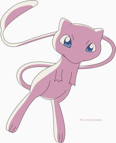 Pokemon Challenge Day My favorite legendary is Mew! Mew And Mewtwo, Pokemon Mew, Pokemon Pocket, Cool Pokemon, Pokemon Challenge, Disney Games, Lugia, Cute Pikachu, Pokemon Pictures