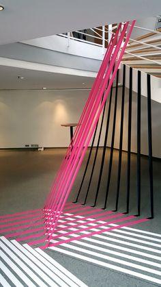 "TAPE ART and STREET ART portfolio of tape artist- Slava ""Ostap"" and his crew. We create Tape Art..."