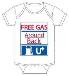 Free Gas Around Back