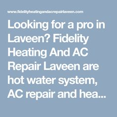 Looking for a pro in Laveen? Fidelity Heating And AC Repair Laveen are hot water system, AC repair and heating specialists. With the best price, service and advice. #LaveenVillageAirConditioningRepair #AirConditioningRepairinLaveenVillage #24HourAirConditioningRepairLaveenVillage #ACRepairinLaveenVillage #FidelityHeatingAndACRepairLaveen