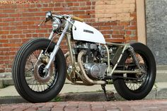 Moto-Mucci: FEATURE: Micah's Stretched 1974 Honda CB360