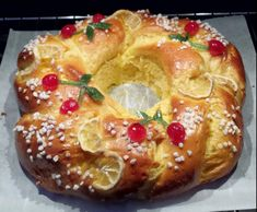 Recette Galette des Rois briochée. par emicuisine - recette de la catégorie Desserts & Confiseries