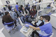 6 February 2015 | Dental students help to improve dental care for homeless centre residents. https://www.plymouth.ac.uk/news/dental-students-help-to-improve-dental-care-for-homeless-centre-residents