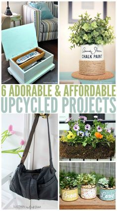 6 easy and affordable diy upcycle ideas