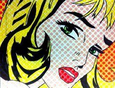 Lichtenstein Likenesses - Artsonia Lesson Plan