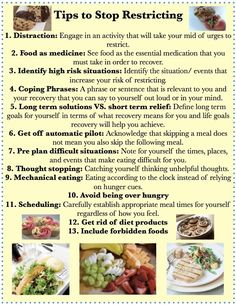 Great tips to help you stay on your meal plan! And number 9 you may have to eat every few hours when on a specific plan