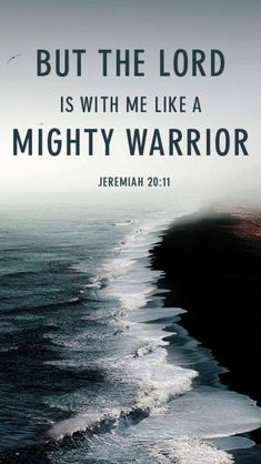 """God is on your side. """"Who is powerful enough to enter the house of a strong man like Satan and plunder his goods? Only someone even stronger- someone who could tie him up and then plunder his house"""" - Jesus (Mark 3:27)"""